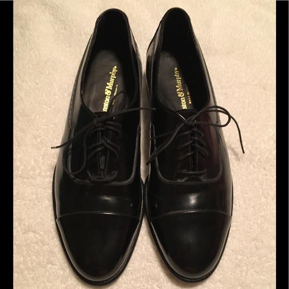 Johnston Murphy Shoes Size 75 Johnston Murphy Black Dress Shoe